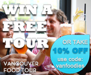 Win a Free Vancouver Food Tour, Taste BC's Best Restaurants.