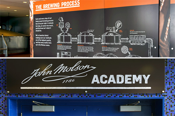 Vancouver Food Tour Presents Your Vancouver Brewery Experience at Molson Coors. Brew house and John Molson Academy