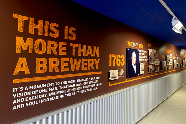 Vancouver Food Tour Presents Your Vancouver Brewery Experience at Molson Coors. More than a brewery tour.